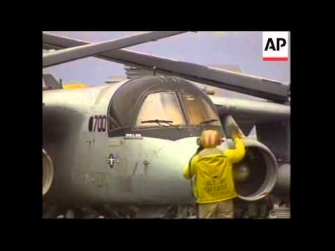 Bush arrives on carrier for 'end of war' speech