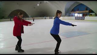 Мастер класс Как крепко стоять на льду и азы фигурного катания