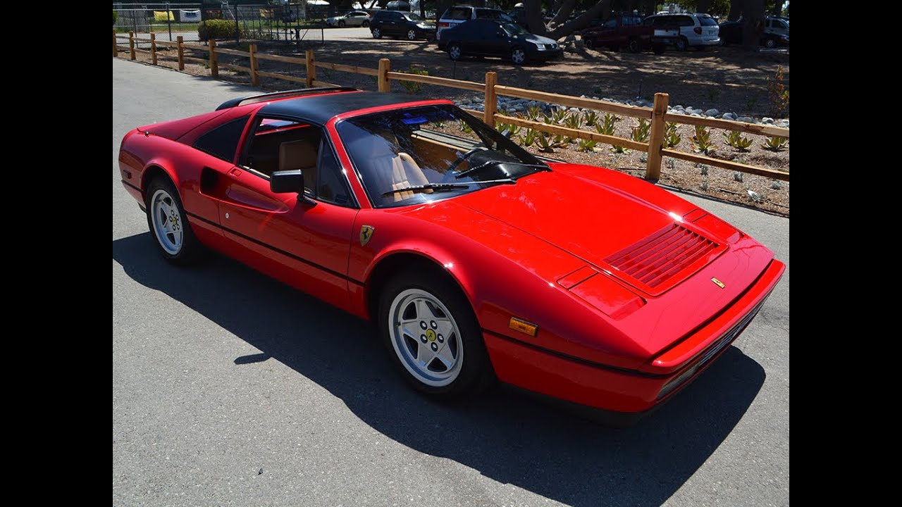 Sold 1987 ferrari 328 gts coupe for sale by corvette mike youtube vanachro Image collections