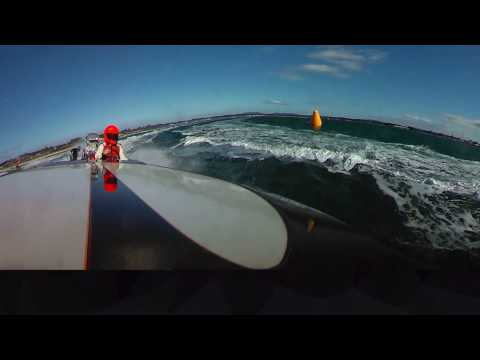 360 footage onboard Mr Horsepower with Mike Davison