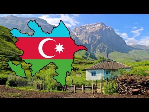 Flag Map Speedart - Azerbaijan