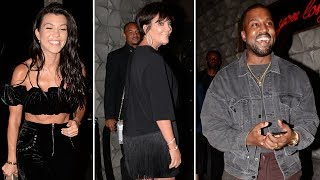 The Kardashian Clan Parties At Blind Dragon For Khloe's 33rd Birthday