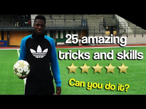 Learn FOUR Amazing Football Skills! CAN YOU DO ... - YouTube