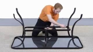 Home Depot Vestri 7pc Dining Set Assembly Instructions