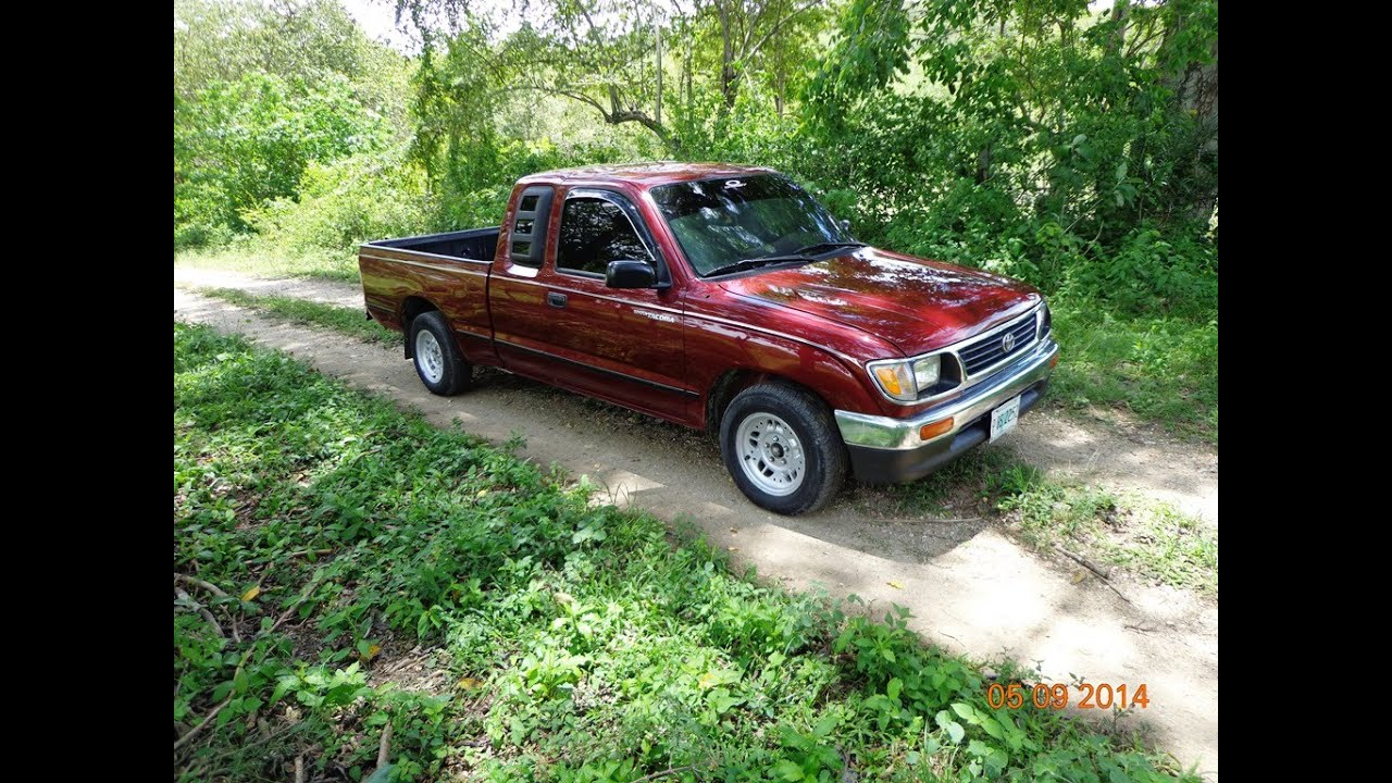 (VENDIDO)TOYOTA TACOMA 1996 CABINA Y MEDIA MARRON - YouTube