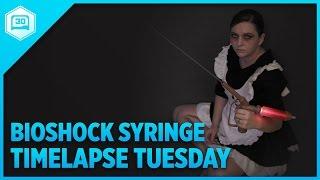 Bioshock Syringe - Timelapse Tuesday #3DPrinting