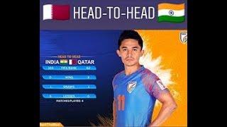 INDIA VS QATAR (LIVE MATCH) FIFA WORLD CUP QATAR 2022 QUALIFIER
