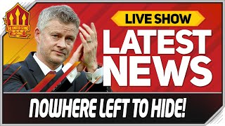 Solskjaer On Thin Ice! Man Utd News Now