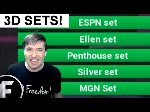 ★ 3D sets and music update - Freedom! and MGN in Spanish - Special channel review