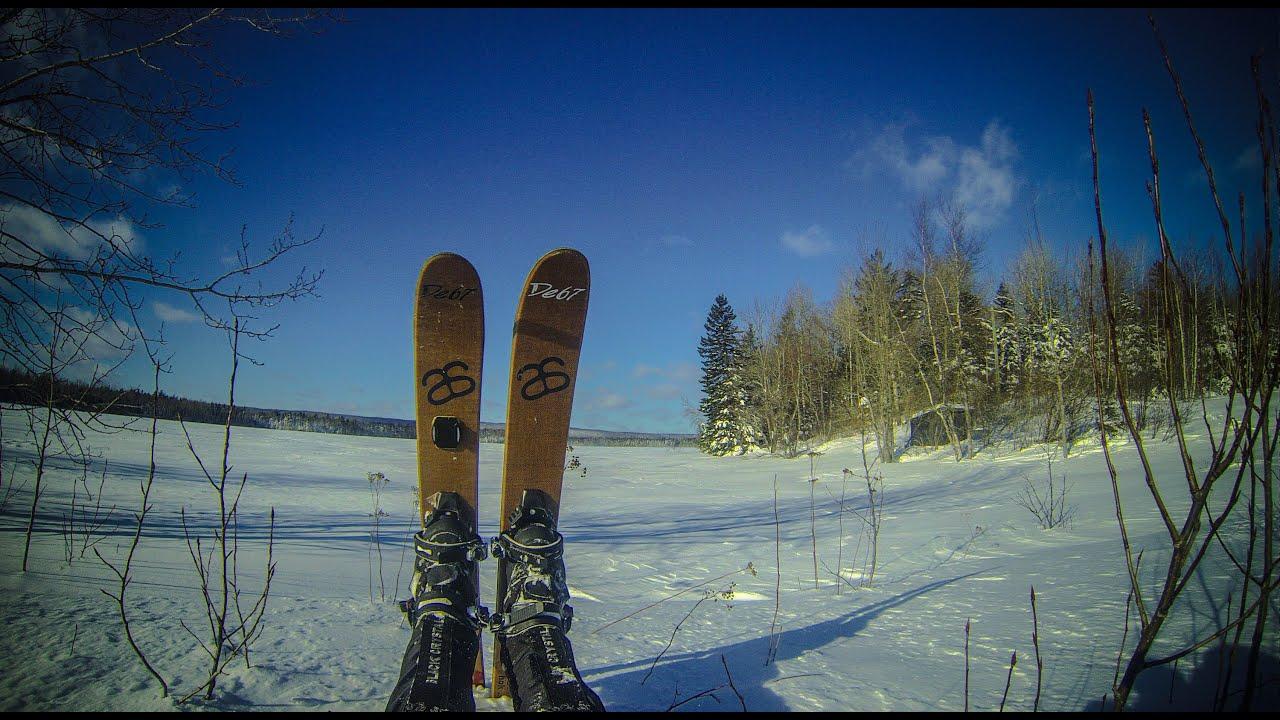 FatSki In The Woods - Altai Hok Skis