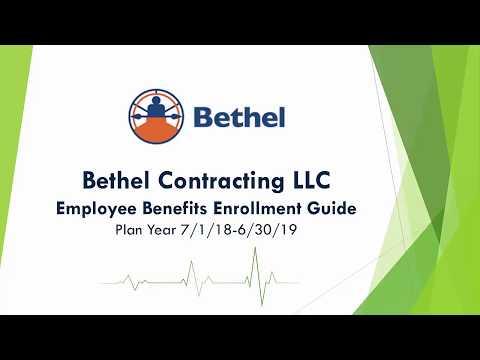 Bethel Contracting Benefits Overview Video 7.1.18