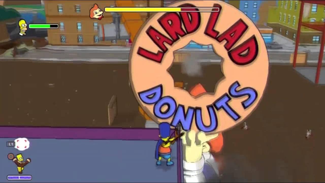 Download Les Simpson le jeu   Episode 9 en français   Les Donuts PS3