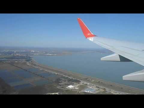 Неудачный заход на посадку  Boeing 737-800 'Аэрофлот' в Краснодаре  2.9.2016. Уход на второй круг.