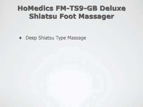 Homedics Shiatsu Elite Fußmassagegerät