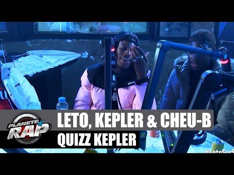 Youtube: Le«Quizz Kepler» avec Leto, Kepler & Cheu-B #PlanèteRap