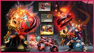 DOTA 2 Shadow Shaman Epic Mix Set Crimson Censer of Gliss + Golden Lamb to the Slaughter