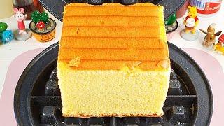 Waffle Iron vs Breads 와플기계로 빵 …