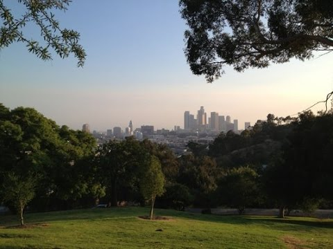 A Walk Around The Northwestern Section of  Elysian Park Hiking Trails, Los Angeles