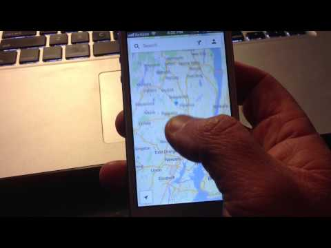 スマホ版Google Mapsを親指だけで拡大・縮小する裏ワザ