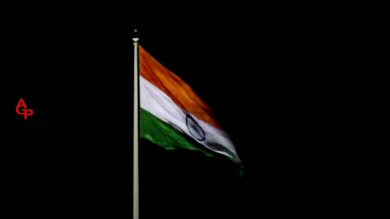 Indian Flag With Different Views