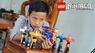 Đồ Chơi Bắn Súng Nerf Cuộc Chiến Cao Thủ Lốc Xoáy Ninjago: Nerf Warf Ninjago Battle Shot