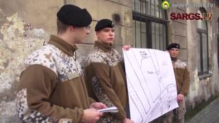 Kara muzeja lekcija aizsardzības akadēmijas kadetiem par Latvijas Brīvības cīņām 2.daļa
