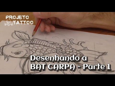 Desenhando A Bat Carpa - Parte 1