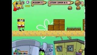 Бродилка Спанч ⭐ Губка Боб 😂 игра мультик прохождение Spongebob M Mask