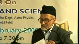 Seminar on Holy Quran and Science - Part 1 - Urdu Speech, Islam Ahmadiyyat