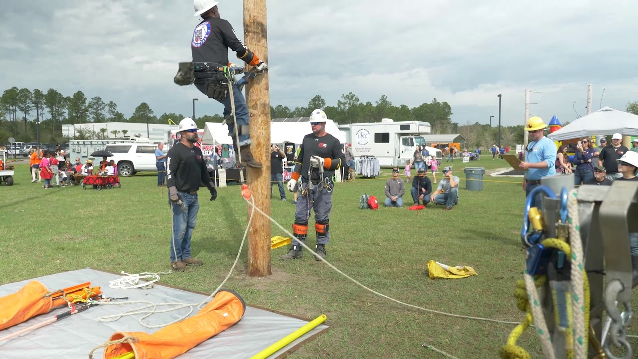 Lineman Rodeo 2019 Value Of A Lineman Rodeo Youtube