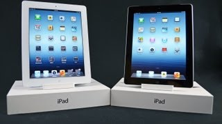 Apple iPad 3 (AT&T & Verizon): Unboxing and Demo