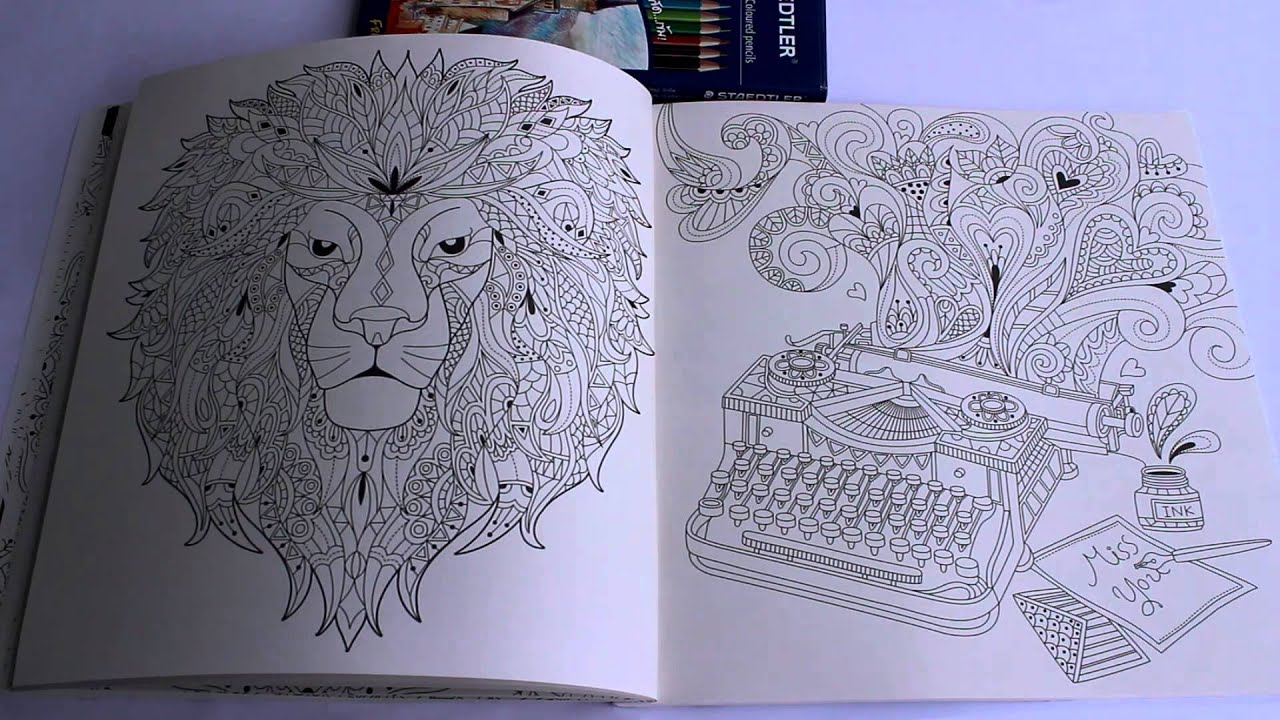 Beautiful Day Adult Coloring Book Review