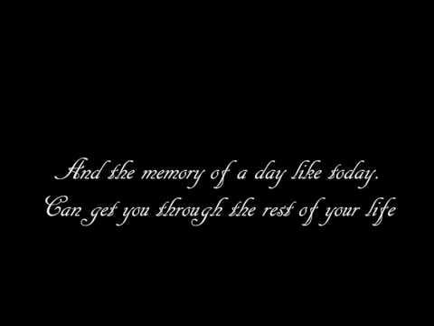 Brad Paisley  Tomorrow Lyrics HD