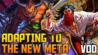 Adapting to the new Meta | Rogue, Hunter & Warlock | VOD | Hearthstone