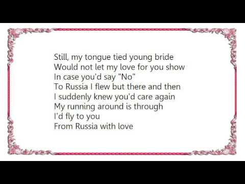 Columbia Ballroom Orchestra - From Russia with Love Slow Foxtrot Lyrics