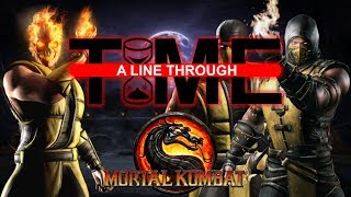 Mortal Kombat's Inconsistent Timeline | A Line Through Time