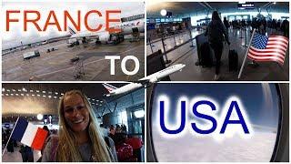 Vlog #1 : MON DEPART AUX USA POUR 1 AN !