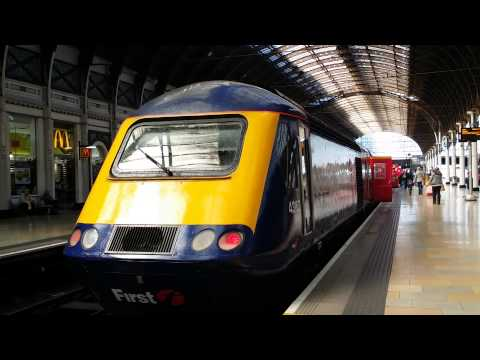 class 43 hst mtu engine start up