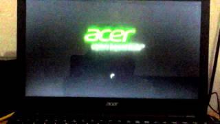 Acer -Windows 8 Preparing Automatic Repair Part1/2