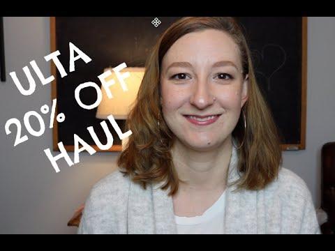 Ulta 20% Haul | December 2017