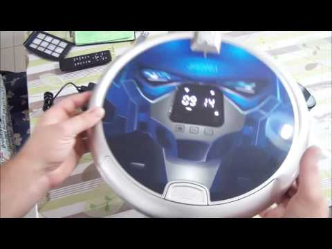 un superbe robot aspirateur intelligent et connect avec wifi et cam ra hd youtube. Black Bedroom Furniture Sets. Home Design Ideas