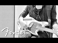 Mikey Way on his Squier Mustang Bass | Fender
