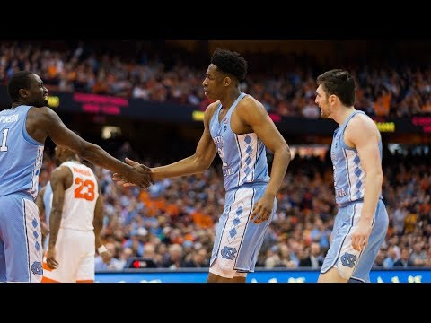 UNC Men's Basketball: Pinson Leads Heels Over Orange, 78-74