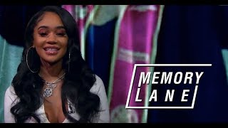 Saweetie remembers trying out for school mascot, her first studio sessions & more | Memory Lane