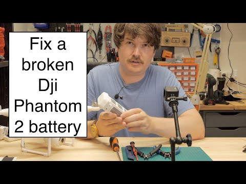 Fix A Broken DJI Phantom 2 Or 3 Battery For Cheap