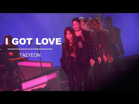 Taeyeon - I Got Love - The Unseen Concert In Seoul Day 1 (200117)