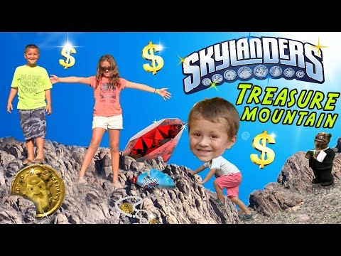 Skylanders Buried Treasure Mountain Jackpot Surprise (The Dig Hunt 4 RARES) $$$$