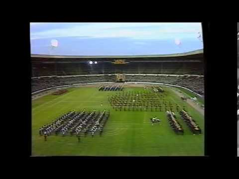 the 1985 military musical pageant wembley stadium