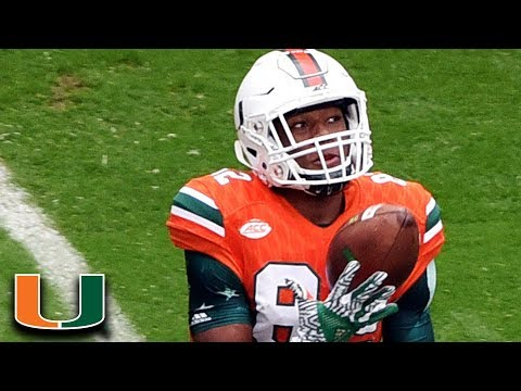 Ahmmon Richards Top 5 Plays Of 2016 | Miami WR