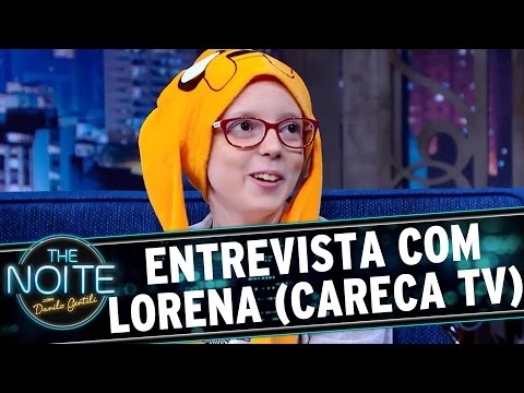 The Noite (28/07/16) - Entrevista com Lorena Reginato (Careca TV)